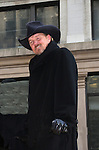 Country Singer Trace Adkins (on Y & R) and the Apprentice at the Macy's Thanksgiving Day Parade on November 27, 2008 in New York City, NY. (Photo by Sue Coflin/Max Photos)