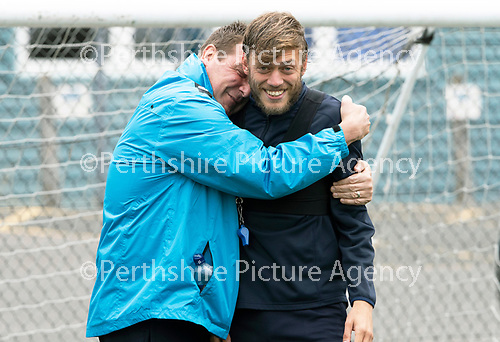 St Johnstone Training 17.08.18