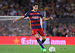 20.09.2015 Barcelona.Spanish la Liga BBVA day 4. Picture show Marc Bartra n action during game between FC Barcelona against Levante at Camp Nou