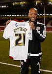 Alex Baptiste of Sheffield Utd signs on loan - English League One - Sheffield Utd vs Burton Albion - Bramall Lane Stadium - Sheffield - England - 1st March 2016 - Pic Simon Bellis/Sportimage