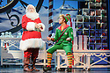 London, UK. 03.11.2015. ELF THE MUSICAL opens at the Dominion Theatre, Tottenham Court Road. Picture shows: Mark McKerracher (Santa) and Ben Forster (Buddy). Photograph © Jane Hobson.
