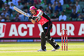 10th February 2019, Melbourne Cricket Ground, Melbourne, Australia; Australian Big Bash Cricket, Melbourne Stars versus Sydney Sixers; Tom Curran of the Sydney Sixers flicks the ball through leg side