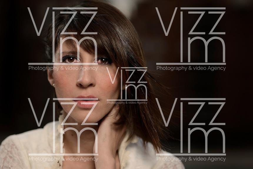 BOGOTÁ -COLOMBIA. Diana Parra, actriz colombiana/ Colombian actress. Photo: VizzorImage/ Gabriel Aponte / Staff