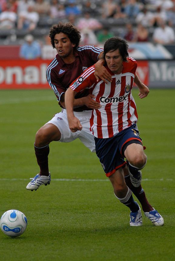 Colorado Rapids and Chivas USA Major League Soccer action in 2007.
