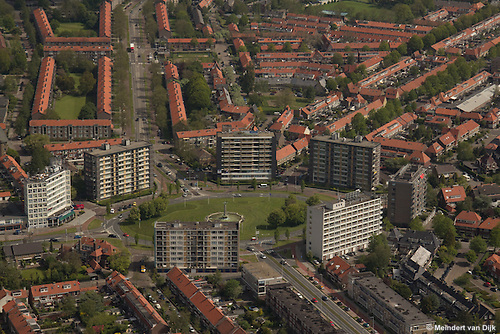 Luchtfotografie Leeuwarden Vrij-Baan