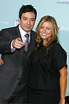 "HOLLYWOOD, CA. - February 02: Actor Jimmy Fallon and producer Nancy Juvonen  arrive at the Los Angeles Premiere of ""He's Just Not That Into You"" held at the Grauman's Chinese Theatre on February 2, 2009 in Los Angeles, California."