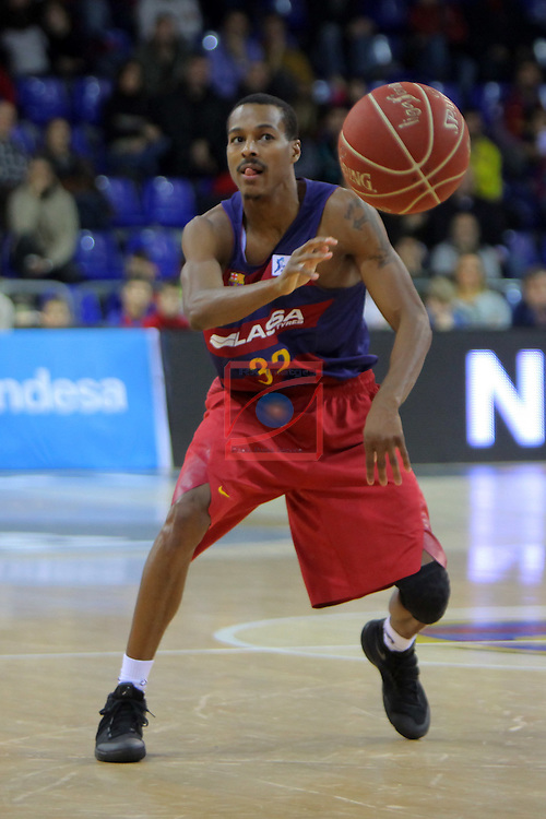 League ACB-ENDESA 2016/2017 - Game: 16.<br /> FC Barcelona Lassa vs Rio Natura Monbus Obradoiro: 100-76.<br /> Alex Renfroe.