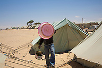 Tunisie RasDjir Camp UNHCR de refugies libyens a la frontiere entre Tunisie et Libye ....Tunisia Rasdjir UNHCR refugees camp  Tunisian and Libyan border Campo profughi frontiera libica