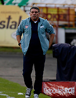 MANIZALES-COLOMBIA, 02-03-2019: Luis Fernando Suárez, técnico de Atlético Junior, durante partido de la fecha 8 entre Once Caldas y Atlético Junior, por la Liga de Aguila I 2019 en el estadio Palogrande en la ciudad de Manizales. / Luis Fernando Suárez, coach of Atletico Junior,  during a match of the 8th date between Once Caldas and Atletico Junior, for the Liga de Aguila I 2019 at the Palogrande stadium in Manizales city. Photo: VizzorImage  / Santiago Osorio / Cont.