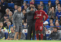 Jurgen Klopp and Daniel Sturridge of Liverpool <br /> 29-09-2018 Premier League <br /> Chelsea - Liverpool<br /> Foto PHC Images / Panoramic / Insidefoto <br /> ITALY ONLY