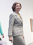 Queen Sofia of Spain attends Dali exhibition at Reina Sofia museum.April 26 ,2013. (ALTERPHOTOS/Acero)