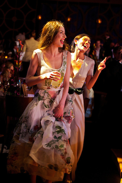 Guests dance at Elton John's White Tie and Tiara Ball