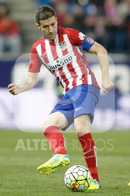Atletico de Madrid's Gabi Fernandez during La Liga match. March 1,2016. (ALTERPHOTOS/Acero)