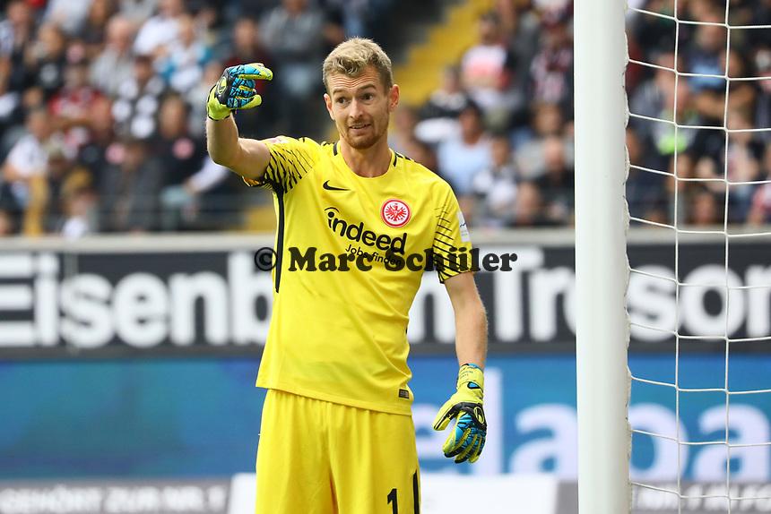Torwart Lukas Hradecky (Eintracht Frankfurt) - 16.09.2017: Eintracht Frankfurt vs. FC Augsburg, Commerzbank Arena