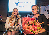 Amsterdam, Netherlands, December 12, 2016, Harbour Club, Tennisser van het Jaar,  <br /> Photo: Tennisimages/Henk Koster