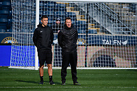 Chester, PA - Sunday December 10, 2017: Charles Rodriguez, Jeremy Gunn. Stanford University defeated Indiana University 1-0 in double overtime during the NCAA 2017 Men's College Cup championship match at Talen Energy Stadium.