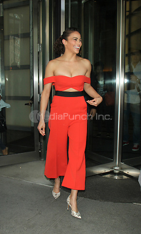 NEW YORK, NY-June 08: Paula Patton at AOL BUILD to talk about new movie Warcraft in New York. NY June 08, 2016. Credit:RW/MediaPunch