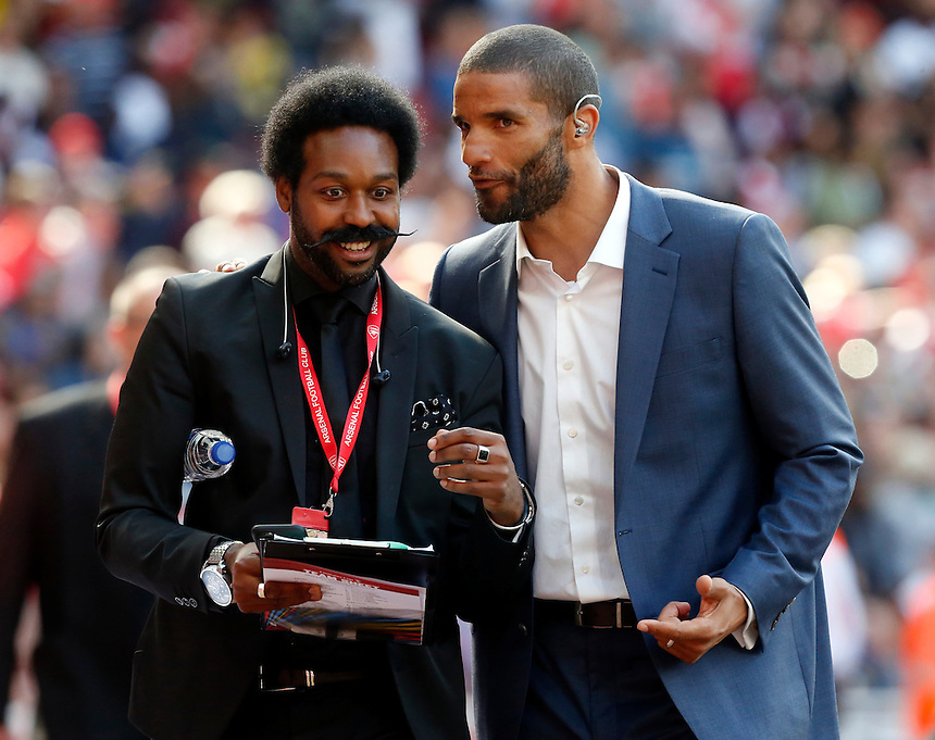 David James Ex West Ham United<br /> <br /> Photographer Kieran Galvin/CameraSport<br /> <br /> Football - Emirates Cup - Arsenal v Olympique Lyonnais - Saturday 25th July 2015 - Emirates Stadium - London <br /> <br /> &copy; CameraSport - 43 Linden Ave. Countesthorpe. Leicester. England. LE8 5PG - Tel: +44 (0) 116 277 4147 - admin@camerasport.com - www.camerasport.com