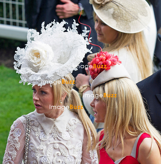 ROYAL ASCOT 2014 LADIES DAY - HAT FASHIONS<br /> The Queen, Duke of Edinburgh, Princes Andrew and Harry Prince Harry, Princesses Anne, Eugenie and Beatrice in attendance on the LadiesDay of the 4-day Royal Ascot Race Meeting.<br /> United Kingdom, Ascot, June 19, 2014.