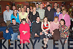 CELEBRATIONS: Laura Commane of Rahoonane, Tralee (seated centre) with her family and friends at O'Donnell's Bar & Restaurant, Mounthawk, Tralee, celebrating her 21st Birthday on Saturday night..