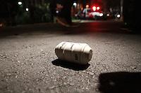 SÃO PAULO, SP - 23.08.2013: MANIFESTAÇÃO CONTRA A VEJA - Integrantes do grupo Black Bock durante a manifestação que teve inicio no Largo da Batata Zona Oeste de São Paulo nesta sexta feira (23). (Foto: Marcelo Brammer/Brazil Photo Press)