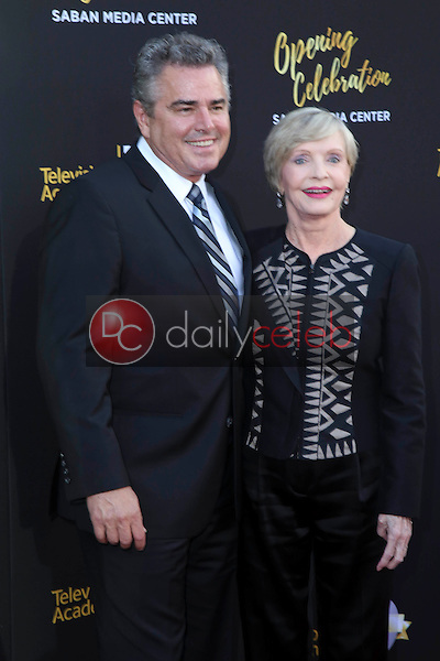Christopher Knight, Florence Henderson<br />