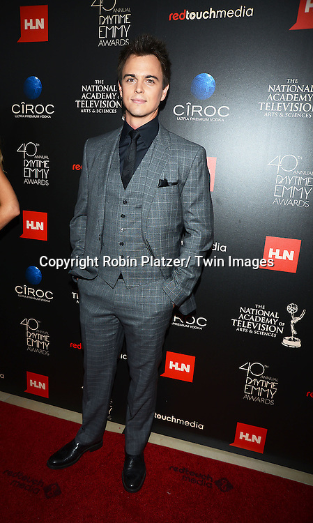 Darin Brooks attends The 40th Annual Daytime Emmy Awards on<br />  June 16, 2013 at the Beverly Hilton Hotel in Beverly Hills, California.