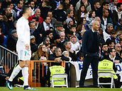 9th December 2017, Santiago Bernabeu, Madrid, Spain; La Liga football, Real Madrid versus Sevilla; Zinedine Zidane Coach of Real Madrid in action
