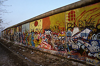'Graffiti IV' - Berlin Wall west zone.10 November 1989