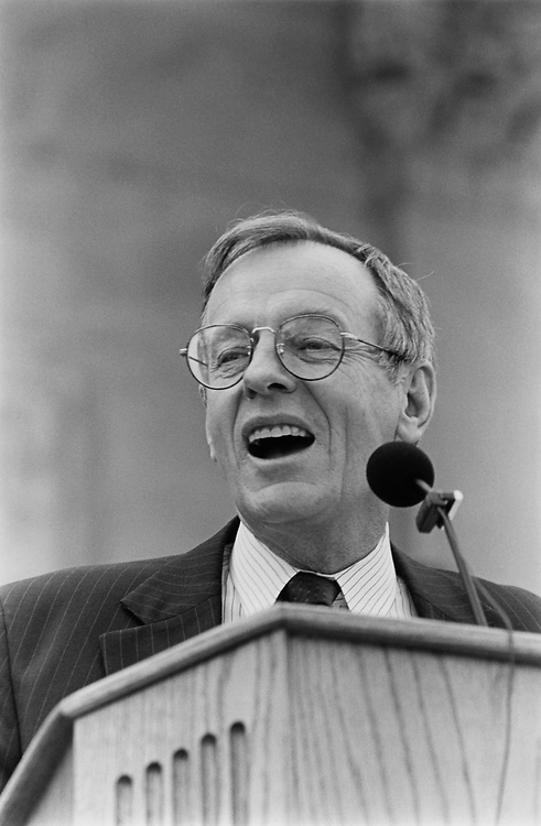 Rep. Wayne Owens, D-Utah, in May 1992. (Photo by Maureen Keating/CQ Roll Call)