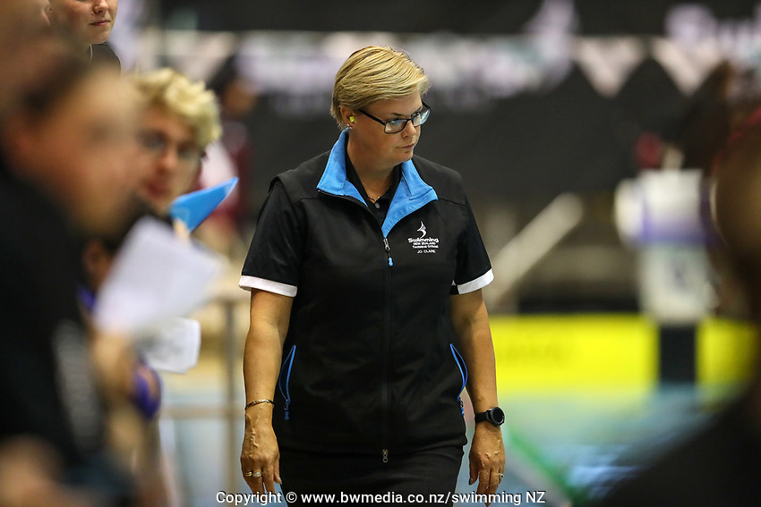 Technical Officials. Swimming New Zealand Aon National Age Group Championships, Wellington Regional Aquatic Centre, Wellington, New Zealand, Tuesday 15 2019. Photo: Simon Watts/www.bwmedia.co.nz