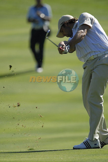 European Team member Sergio Garcia takes his 2nd shot on the 12th hole during Practice Day1 of the 37th Ryder Cup at Valhalla Golf Club, Louisville, Kentucky, USA, 17th September 2008 (Photo by Eoin Clarke/GOLFFILE)