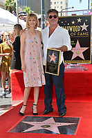 LOS ANGELES, CA. August 22, 2018: Simon Cowell & Grace VanderWaal at the Hollywood Walk of Fame Star Ceremony honoring Simon Cowell.