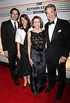 Nancy Pelosi and Paul Pelosi & Family attend the 2010 Kennedy Center Honors Ceremomy in Washington, D.C..