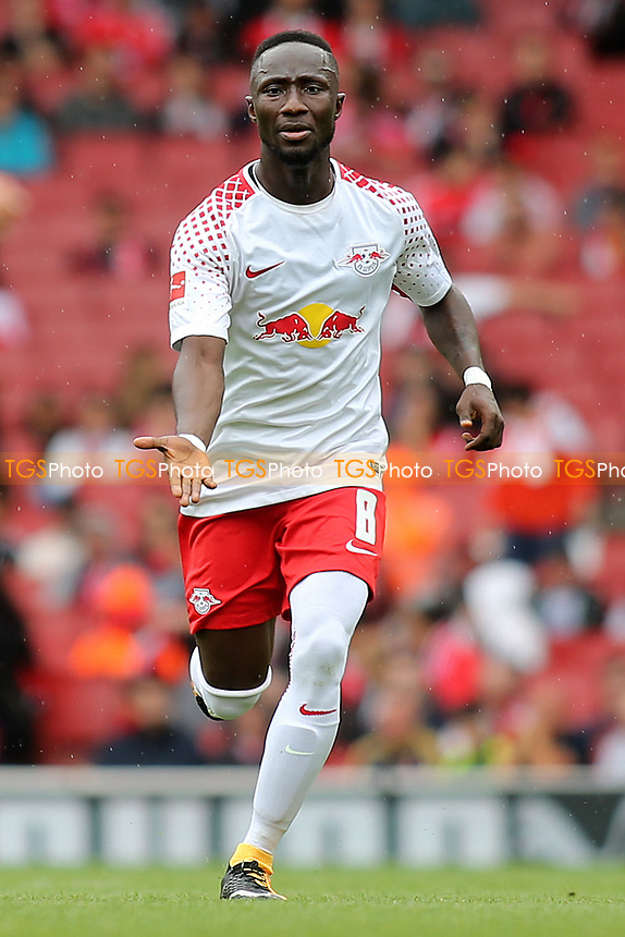 Naby Keita of RB Leipzig during RB Leipzig vs Sevilla, 2017 Emirates Cup Football at the Emirates Stadium on 29th July 2017