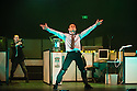 London, UK. 23.10.2013. Kristjan Ingimarsson / Neander present BLAM! at the Peacock Theatre. Picture shows: Janus Elsig and Kristjan Ingimarsson. Photograph © Jane Hobson.