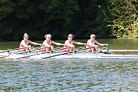 Race: 10  Event: Aspirational 4x<br /> Crew: 198  Club: Tideway Scullers Sch<br /> <br /> Henley Women's Regatta 2018<br /> Friday<br /> <br /> To purchase this photo, or to see pricing information for Prints and Downloads, click the blue 'Add to Cart' button at the top-right of the page.