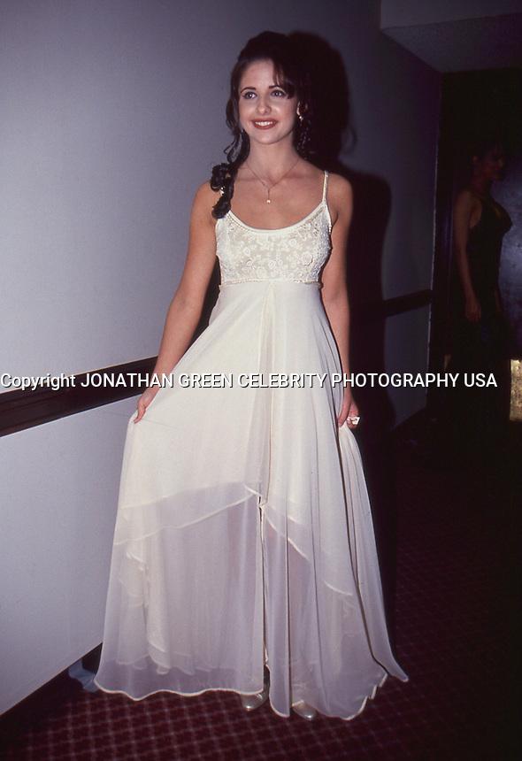 Sarah Michelle Gellar 1995 By Jonathan <br /> Green