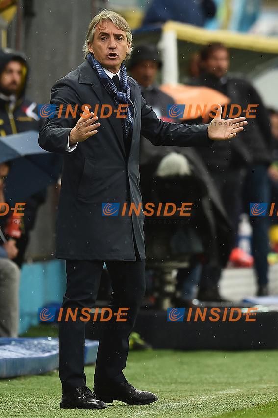 Roberto Mancini Inter <br /> Frosinone 09-04-2016 Stadio Matusa Football Calcio Serie A 2015/2016 Frosinone - Inter Foto Andrea Staccioli / Insidefoto