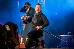 Classic Scottish rock band, Simple Minds, headline at this years Concert in the Gardens, part of Edinburgh's Hogmanay 2013 celebrations.<br />