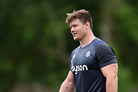 Nick Auterac of Bath Rugby looks on. Bath Rugby pre-season S&C session on June 22, 2017 at Farleigh House in Bath, England. Photo by: Patrick Khachfe / Onside Images