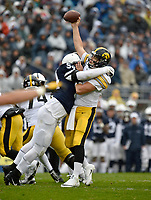 STATE COLLEGE, PA - OCTOBER 27: The Penn State Nittany Lions defeated the Iowa Hawkeyes 30-24 on October 27, 2018 at Beaver Stadium in State College, PA. (Photo by Randy Litzinger/Icon Sportswire)