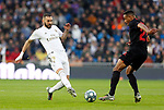 Real Madrid CF's Karim Benzema during La Liga match. Jan 18, 2020. (ALTERPHOTOS/Manu R.B.)