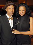 Radcliffe Baily and Victoria Rowell at the Houston Museum of African American Culture held at the Ensemble Theater Thursday Oct. 22,2009. (Dave Rossman/For the Chronicle)