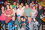 70 YEARS YOUNG: Tom Joe O'Sullivan, Alderwood Rd, Tralee (standing 3rd from the Rt) celebrated his 70th birthday last Saturday night in Turners bar, Castle St, Tralee surrounded by family and friends.