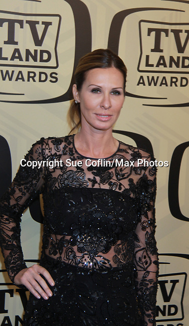 "Carole Radziwill _ Real Housewife of New York  at the 10th Anniversary of the TV Land Awards on April 14, 2012 to honor shows ""Murphy Brown"", ""Laverne & Shirley"", ""Pee-Wee's Playhouse"", ""In Loving Color"" and ""One Day At A Time"" and Aretha Franklin at the Lexington Armory, New York City, New York. (Photo by Sue Coflin/Max Photos)"