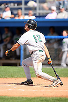September 1 2008:  Brandon Turner of the Jamestown Jammers, Class-A affiliate of the Florida Marlins, during a game at Dwyer Stadium in Batavia, NY.  Photo by:  Mike Janes/Four Seam Images