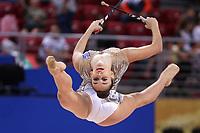September13, 2018 - Sofia, Bulgaria - ELENI KELAIDITI of Greece performs at 2018 World Championships.