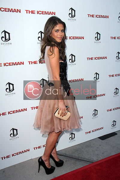 "Weronika Rosati<br /> at ""The Iceman"" Red Carpet, Arclight Theater, Hollywood, CA 04-22-13<br /> David Edwards/DailyCeleb.Com 818-249-4998"