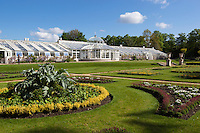 Great Britain, England, Greater London, Chiswick: Greenhouse and gardens of Chiswick House and Gardens | Grossbritannien, England, Greater London, Chiswick: Garten und Treibhaus des Chiswick House and Gardens